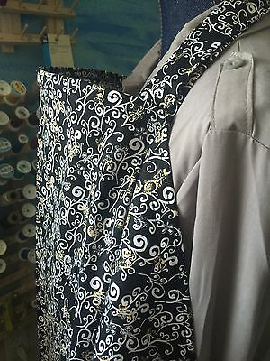 NURSING COVER hider* BREASTFEEDING COVER Scroll Branch Black Yellow White
