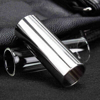 Chrome Plated Stainless Steel Metal Electric Guitar Slide Thick Accessories