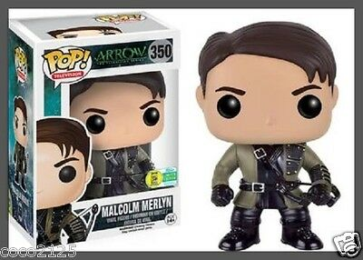 funko pop 2016 sdcc arrow 350 malcolm merlyn san diego comic con