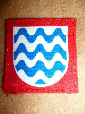 Formation Patch, 15th Army Group Printed Patch, British WW2, Italy interest 1943
