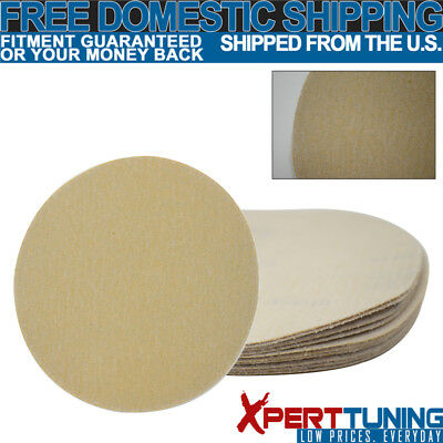 10 PC Dry Auto Collision Repair Sanding Paper Sand Sheet Disc 150 Grit 5 Inch