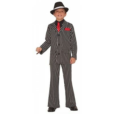 Gangster Costume Kids Roaring 20s Halloween Fancy Dress