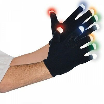 LED Gloves Costume Accessory Adult Halloween