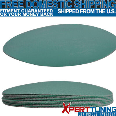 10PC Wet Dry 5 Inch No Hole Sand Paper Disc 600 Grit Repair Sanding Sheet