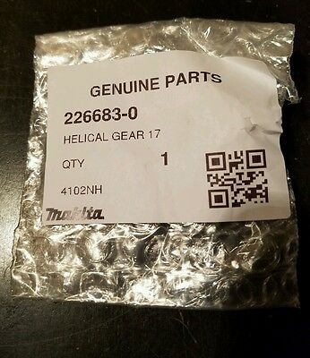 Makita 226683-0 Helical Gear 17, 4200Nh 4100Nh