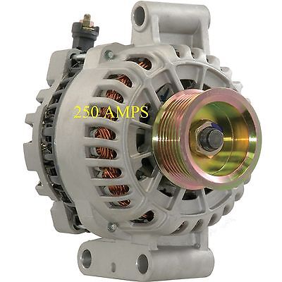 ALTERNATOR HIGH OUTPUT Fits FORD F SERIES EXCURSION 7.3L V8 DIESEL 250AMP NEW