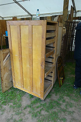 Original Bakers Storage Cabinet With Trays