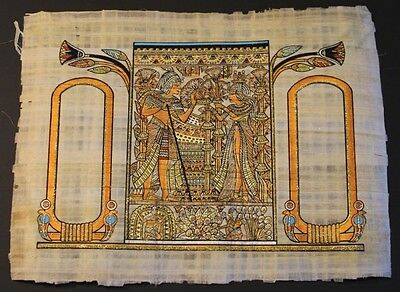 The Wedding Card of Tut Ank Amon and His Wife