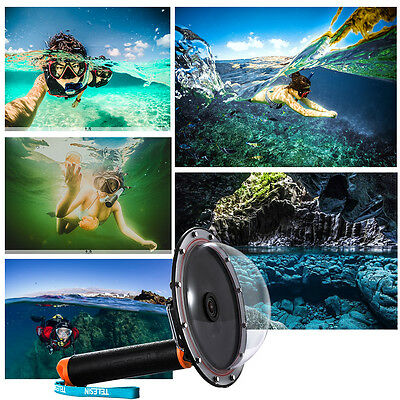 6 in Underwater Diving Camera Lens Dome Port Cover Case for GoPro Hero 3/3+/4