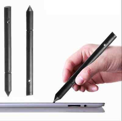 2 in1 Touch Screen Pen Stylus For Apple iPhone iPad Samsung Tablet Phone Black