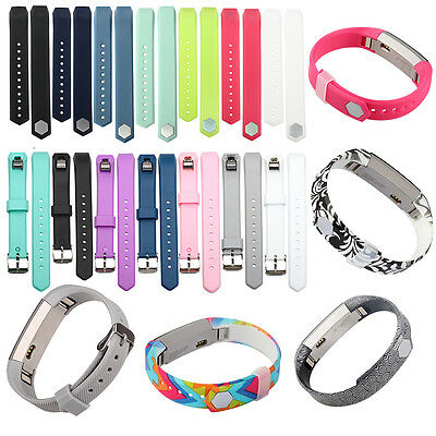 Small Large Replacement Sil Wrist Band Strap For Fitbit Alta & Alta HR Wristband