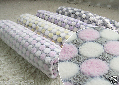 Lovely and Thick Fleece Pet Blankets Large Medium Small Soft Dog Cushion Mat