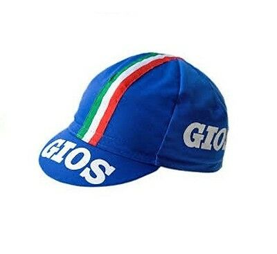 GIOS RETRO CYCLING BIKE CAP - Vintage - Fixed Gear - Made in Italy