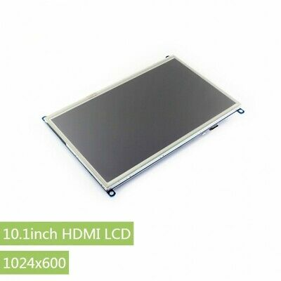 Waveshare 10.1 inch Raspberry Pi Display 1024x600 Touchscreen LCD HDMI Interface