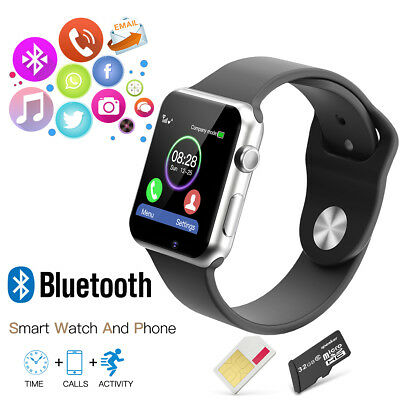 2016 New A1 Bluetooth Smart Wrist Watch GSM Phone for Android Samsung iPhone IOS