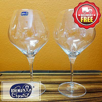 Bohemia Crystal (024.008) Amoroso Wine Glass 450ml 2pcs | Father's Day Gift