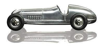 "Tether Car Indianapolis Spindizzy Aluminum Model 1930s Replica 12"" New"