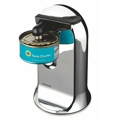 Kenwood Electric Can Opener Chrome Tin Bottle Opener 3 In 1