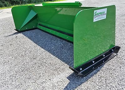 7' Low Pro John Deere snow pusher box FREE SHIPPING Express Snow Pusher