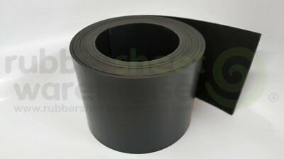 "Neoprene Rubber Sheet Strip   1/4"" Thick x 2"" wide x 10' feet long  FREE SHIPPIN"