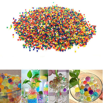 10000Pcs Bullet Ball Mini Round Crystal Soil Water Bead For Garden Plant