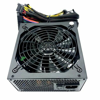 NEW 1000W Silent Fan Gamer PC 12V Dual PCI-e Cables ATX12V EPS12 Power Supply PS