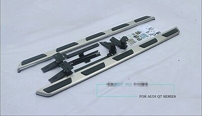 Genuine style design running board side step Nerf bar fit for Audi Q7 2016 2017