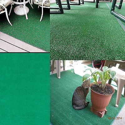 Artificial Grass Carpet Indoor Outdoor Green Synthetic Turf Area Rug