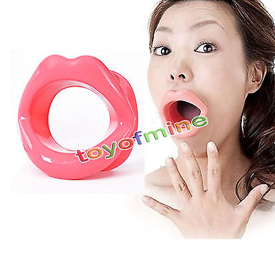 New Rubber Mouth Gag Open Fixation Mouth Stuffed Oral Toys Restraint Bondage Hot