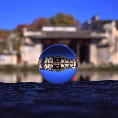 LONGWIN Crystal Ball Magic Glass Ball for Photography Home Decor 40mm