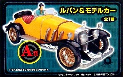 Used Ichibankuji DX Lupin the 3rd & Car figure Banpresto official anime Genuine