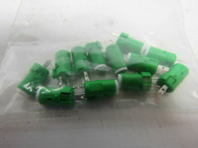 Omron A16-DSG Green Miniature LED Lamp 24V Lot of 12