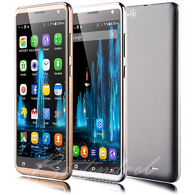 "Touch Smartphone 5.5"" Unlocked Android Dual SIM Quad Core 3G For Mobile Phone"