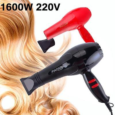 PIAOXIN Pro Hair Blow Dryer 1600W Heat Blower Dryer Hot And Cold Wind Salon