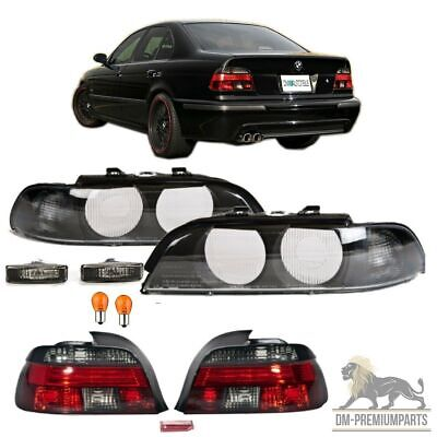 BMW E39 Limousine Facelift Rückleuchten Set+Scheinwerfer Set+Blinker Smoke 95-00