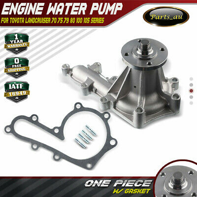 Water Pump for Toyota Landcruiser 70 75 79 80 100 105 Series 1HZ 1HD 4.2L Diesel