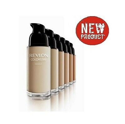 REVLON COLORSTAY Foundation 30ml 24h COMB/OILY or NORMAL/DRY with Pump and SPF15