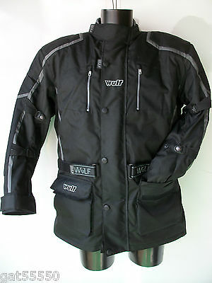 New Wulfsport Enduro Motorcycle Jacket (All Sizes) Road Ktm Bmw Drz Gs Touring