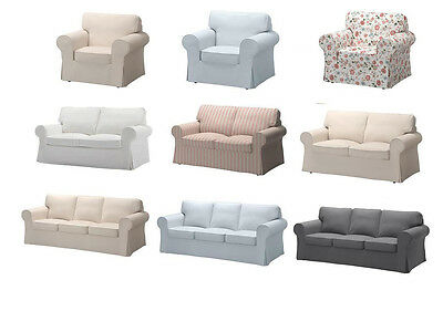 EKTORP One,Two & Three Seat Sofa Washable Slip Covers in Different Colours