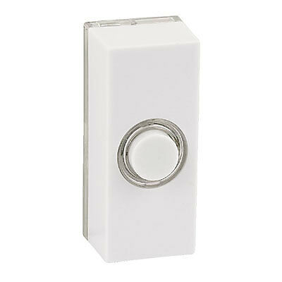 New Friedland Door Bell Doorbell Bell Push White Chime LV Illuminated Light Spot