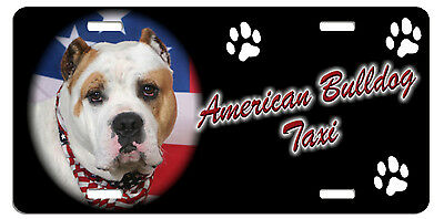 American BullDog Taxi Line License Plate (( LOW CLEARANCE PRICE ))