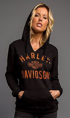"Harley-Davidson Dealer Sweat-Shirt ""UNSTOPPABLE"" Hoodie *5M01-HC6J-XS* Gr. XS"
