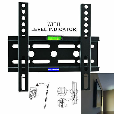 "Universal 24-42"" LED TV Flatscreen Fixed Wall Mount Bracket LCD PLAZMA FIXING"