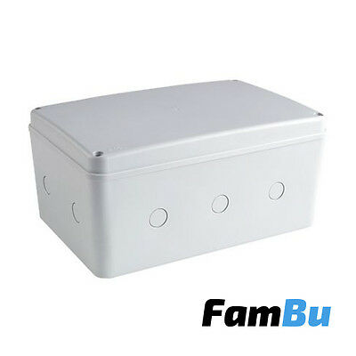 Weatherproof Junction Box 270mm - IP66 - Outdoor Electrical