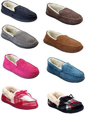 Womens Lightweight Fur Lined Winter Warm Cosy Ladies Moccasins Slippers Shoes Uk