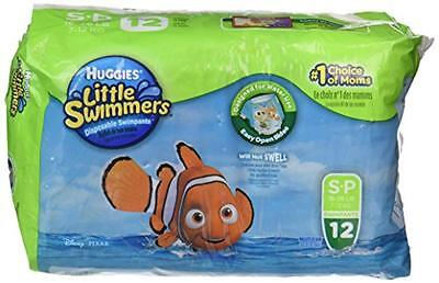 Huggies Little Swimmers Diapers - Small - 12 ct, New, Free Shipping
