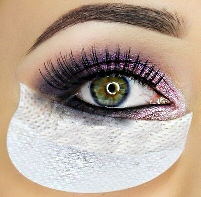 TOTALLY Lashed - Eye SHADOW SHIELDS Makeup Application - Mascara Guard Eyes