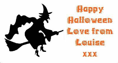 Halloween Party Bag Stickers Personalised Labels Address Party Thank You D2
