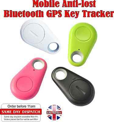 Mobile Anti Lost Smart Bluetooth Tracer GPS Locator Tag Key Child finder Pet UK