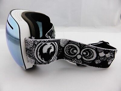 Dragon X1 Frameless Snow Goggles ONBOARD DAP Mirror Ion + Yellow/Red Ion Lens